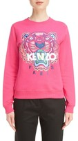 Kenzo Women's Embroidered Tiger Cotton Sweatshirt