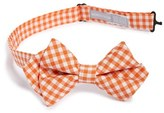 Nordstrom 'Picnic Gingham' Silk Bow Tie (Big Boys)