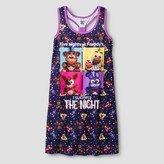 Five Nights at Freddy Girls' Five Nights at Freddy's Nightgowns - Multi-colored
