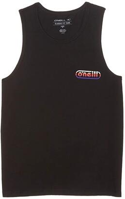 O'Neill Kids Rock On Tank Top (Big Kids) (Black) Boy's Clothing