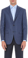 Canali Birdseye Cashmere And Silk-blend Jacket