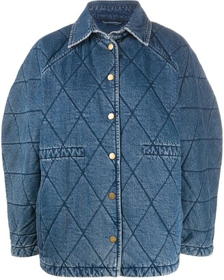 Remain Quilted Oversized Jacket