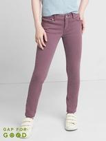 High stretch purple super skinny jeans