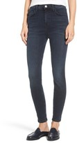 Current/Elliott Women's The Super High Waist Stiletto Ankle Skinny Jeans