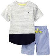 Nautica Tee & Short Set (Toddler Boys)