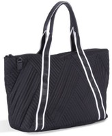 KENDALL + KYLIE Jane Quilted Nylon Tote - Black