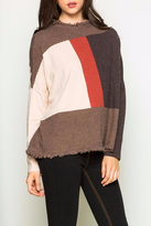THML Clothing Color Block Sweater