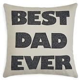 Alexandra Ferguson Best Dad Ever Decorative Pillow, 16 x 16