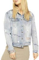 MinkPink Girl Power Denim Jacket
