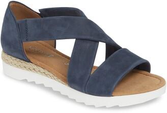 Gabor Cross Strap Sandal