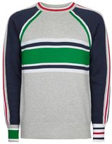 Topman Color Block Sweater