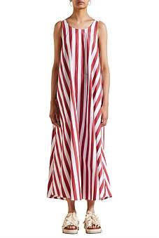 Lee Mathews Simone Coop Back Maxi Dress
