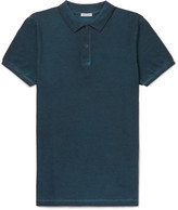 Tomas Maier Overdyed Cotton-Piqué Polo Shirt