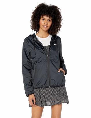RVCA womens HEX Packable Windbreaker Jacket