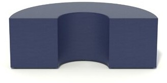 Bloom Novelty Soft Seating Palmieri Color: Plum