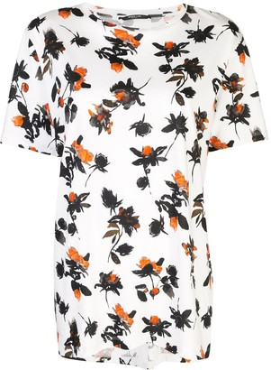 Derek Lam Floating Floral printed T-shirt