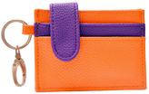 Orange & Purple Credit Card Holder