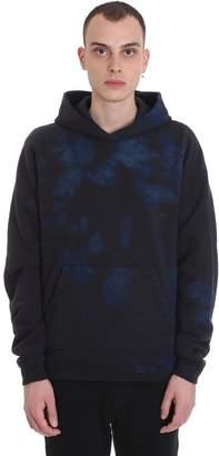 John Elliott Double Dye Regl Sweatshirt In Black Cotton