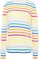 Parker Chinti & Striped Cashmere Sweater