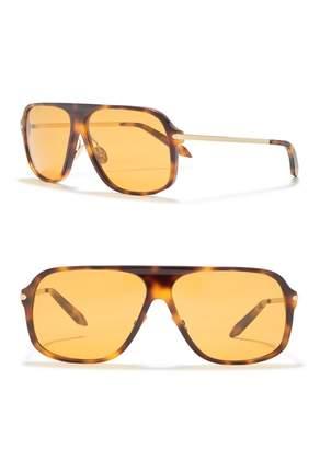 Victoria Beckham 60mm Aviator Sunglasses