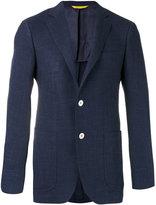 Canali two button blazer - men - Silk/Linen/Flax/Cupro/Wool - 54