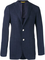 Canali two button blazer - men - Wool/Silk/Linen/Flax/Cupro - 48