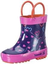 Kamik Girls' Cherish Rain Boot