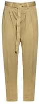 Visvim Relaxed cotton and linen-blend trousers
