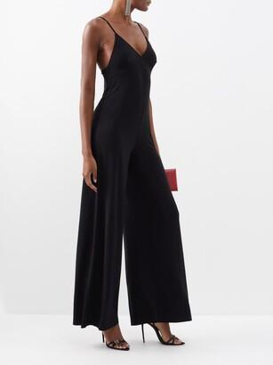Norma Kamali Core Wide-leg Jumpsuit - Black