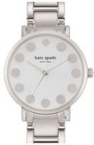 Kate Spade 'gramercy' Dot Dial Bracelet Watch, 34mm