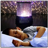 Allytech(TM) LED Star Light Projector Colorful Twilight Romantic Sky Star Master Projector Lamp Starry LED Night Light Kids Bedroom Bed Light Children's Gift