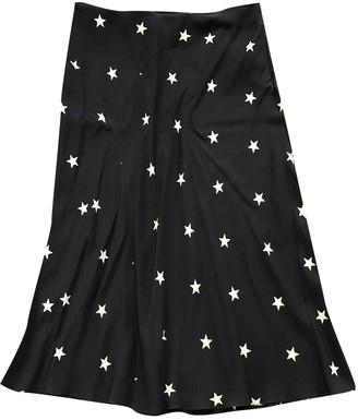 Philosophy di Alberta Ferretti Blue Silk Skirt for Women