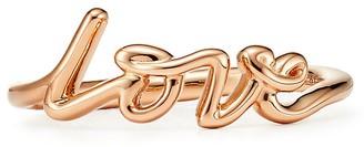 Tiffany & Co. Paloma's Graffiti Love Ring in Rose Gold, Mini