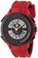 Ferrari Scuderia Gents SF102 Red Digital 'Lap Time' Watch 0830019