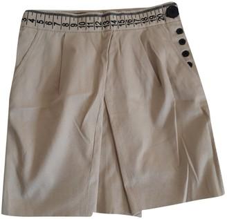 JC de CASTELBAJAC Beige Cotton Skirts