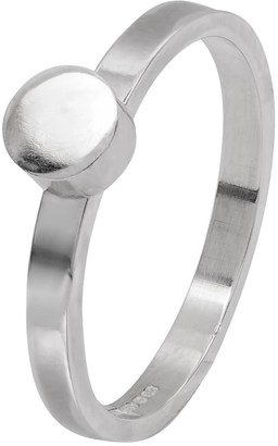Edge Only Circle Stacking Ring