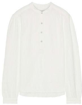 Rag & Bone Prairie Crinkled-cotton Top