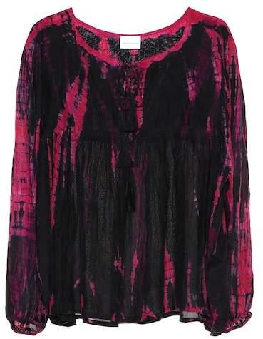 Anna Kosturova Silk blouse