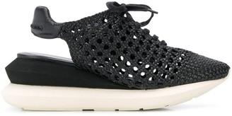 Manuel Barceló Platform Slingback Sandals