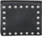 Versus Studded Saffiano Leather Clutch
