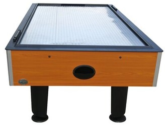 "Playcraft Champion 88"" Two Player Air Hockey Table with Manual Scoreboard"