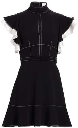 Cinq à Sept Reika Tiered Ruffle Fit-&-Flare Dress