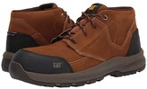 Caterpillar Resolve Mid Composite Toe (Brown Nubuck) Men's Lace up casual Shoes