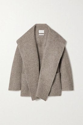 LAUREN MANOOGIAN Oversized Knitted Coat - Taupe