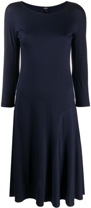 Aspesi Fit-And-Flare Wool Dress