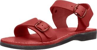 Jerusalem Sandals The Original - Leather Adjustable Strap Sandal - Womens Sandals Brown
