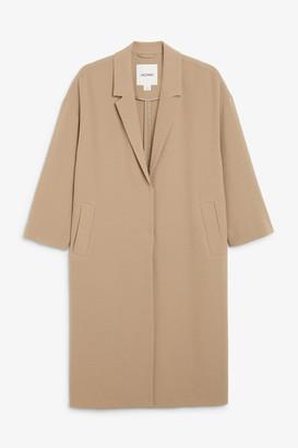 Monki Unlined long blazer
