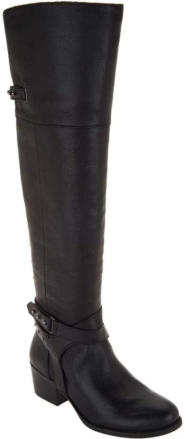 195952d8db6 Leather Medium Calf Tall ShaftBoots - Bestant