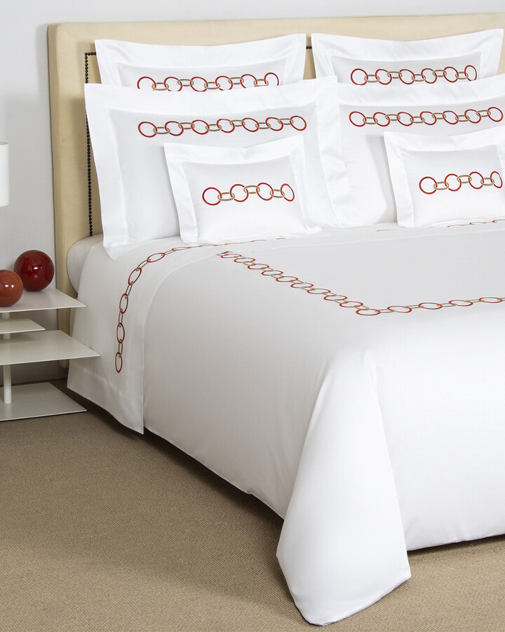 Embroidered Sheet Set Shop The World S Largest Collection Of Fashion Shopstyle Uk