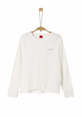 S'Oliver Girl's 73.911.31.8321 Long Sleeve Top